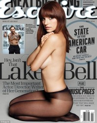 Lake Bell in Esquire Magazine May 2014