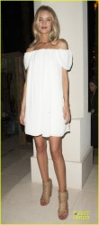 Rosie Huntington-Whiteley - 2014 Coachella Music Festival Desert Sunset Social 4/11/14