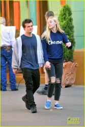 Elle Fanning - At Disneyland in Anaheim 4/12/14