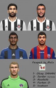 Download STSL Facepack PES2014 by byMuCé