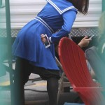 Lea Michele - On Glee Set 04/10/2014