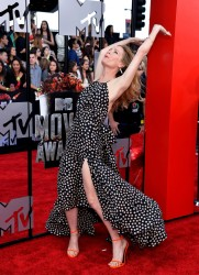 Leslie Mann - 2014 MTV Movie Awards in LA 4/13/14