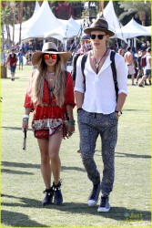 Vanessa Hudgens - 2014 Coachella Music Festival: Day Three 4/13/14