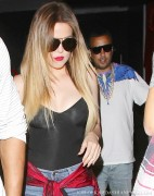 Khloe Kardashian - Leaving Phillipe Chow in Beverly Hills 4/13/14