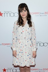 "Zooey Deschanel - ""To Tommy, From Zooey"" Launch At Macy's Herald Square in NYC 4/14/14"