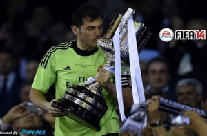 Iker Casillas HD Splash FIFA 14 by parsass