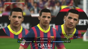 Download PES 2014 Alexis Sanchez Face by Yousif