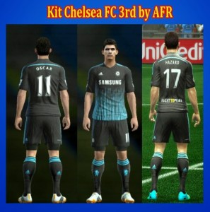 Download PES 2013 Chelsea FC 3rd Kits by AFR