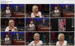 HELEN MIRREN interview - letterman - June 14, 2010