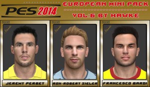 Download PES 2014 European Mini Pack Vol 6 by Hawke