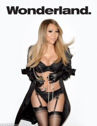 Mariah Carey Looking Hot in Wonderland Magazine Summer 2014
