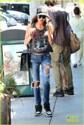 Naya Rivera - Getting coffee in LA 4/29/14