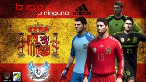 FIFA 14 Spain 2014-15 Friendly and World Cup 14 Kitset by zico99