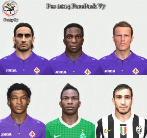 Download Pes 2014 Facepack vol. 7  by Gemy87