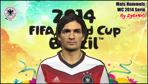 Download PES 2014 Mats Hummels Face By DzGeNiO