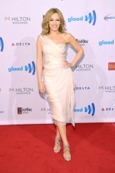 Kylie Minogue - 25th Annual GLAAD Media Awards in NYC 5/3/14