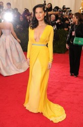 Olivia Munn - 2014 Met Gala in NYC 5/5/14 *ADDS*