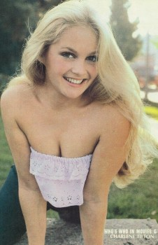 Charlene Tilton: Cute Closeup With Cleavage - HQ x 1