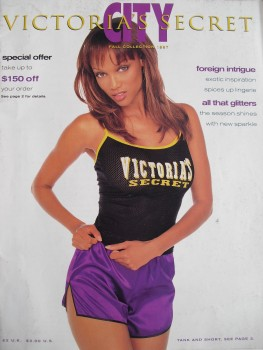 Tyra Banks: Victoria's Secret UK Cover - HQ x 1