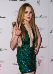 Lindsay Lohan - 2014 Gabrielle's Gala in London 5/7/14