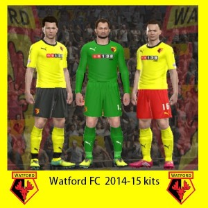 Download PES 2014 Watford 2014-15 GDB Kits by Attila74