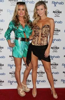 Joanna Krupa & Marta Krupa - Host Rehab Bikini Invitational Round 1 - 05.10.2014