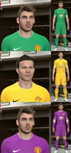 Download Manchester United 14-15 Fantasy GK Kits by Ram'z