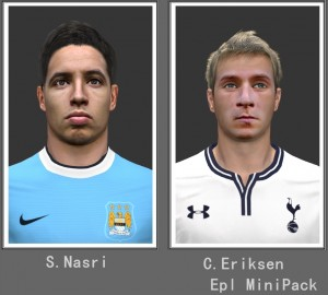 Download PES 2014 Epl Mini Facepack by shaggyboss