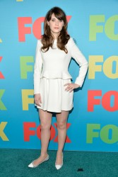 Zooey Deschanel - 2014 Fox Upfronts in NYC 5/12/14