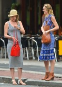 Candice Swanepoel & Doutzen Kroes - Out & About in NYC 5/12/14