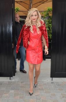 Rita Ora - at Capital FM studios in London 05/12/2014