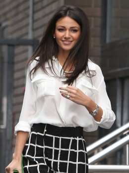 Michelle Keegan - Outside ITV Studios, London 05/12/2014