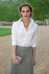 Emma Watson at Windsor Castle on May 13, 2014