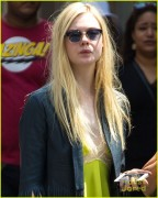 Elle Fanning - Out in Soho 5/12/14