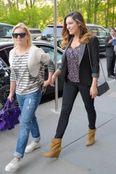 Elisha Cuthbert and Kelly Brook Out in New York City on May 14, 2014