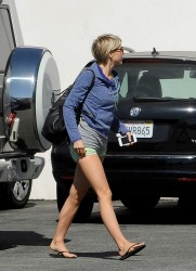 Julianne Hough - Leaving a dance studio in LA 5/14/14