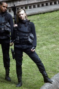 Natalie Dormer on set of Hunger Games 3 May 15, 2014