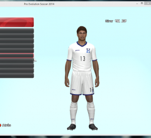 Download PES 2014 Honduras Home Kit 2014 by ABIEL