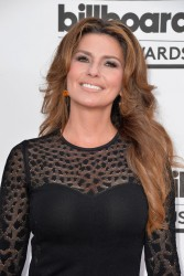 Shania Twain at the 2014 Billboard Music Awards at the MGM Grand Garden Arena in Las Vegas, Nevada on May 18, 2014