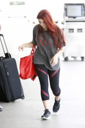 Ariel Winter at LAX Airport in Los Angeles on May 17, 2014