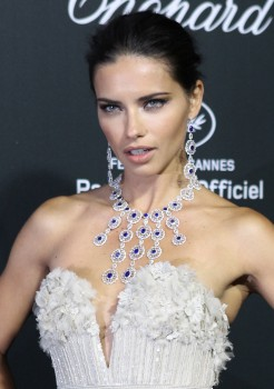 Adriana Lima - Chopard Backstage Party at the 67th Cannes Film Festival 05/19/2014
