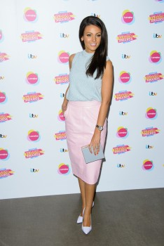 Michelle Keegan - Lorraine's High Street Fashion Awards in London 05/21/2014