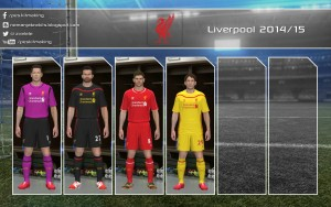 Download PES 2014 Liverpool 2014-15 GDB by Nemanja