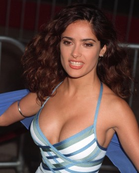 Salma Hayek: In Your Face Juggies - HQ x 1