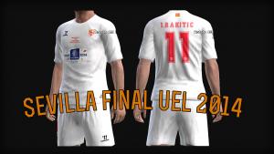 Download PES 2013 Sevilla UEL Final Kits 2014 by AkmalRW
