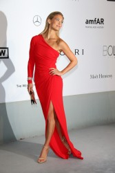 Bar Refaeli - amfAR's 21st Cinema Against AIDS Gala in Cap d'Antibes, France 5/22/14