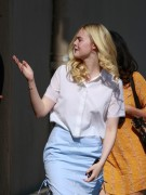 Elle Fanning - Arriving to 'Jimmy Kimmel Live!' in Hollywood 5/21/14