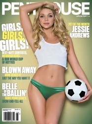 PHOTOS: Penthouse USA June 2014 – Jessie Andrews