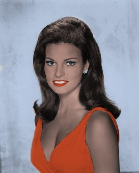 Raquel Welch - 2 Pictures - Colored by me:)