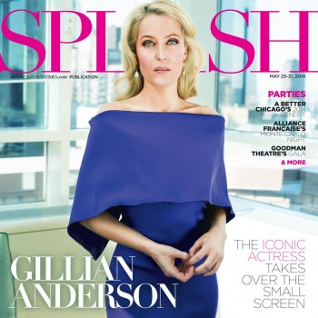 Gillian Anderson, Sun-Times Splash may 2014